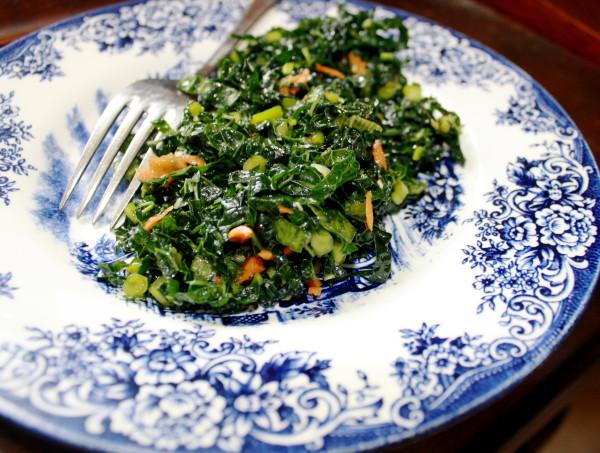 Salad Kale sweet sour