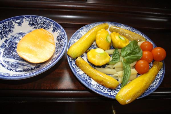 Yellow dinner