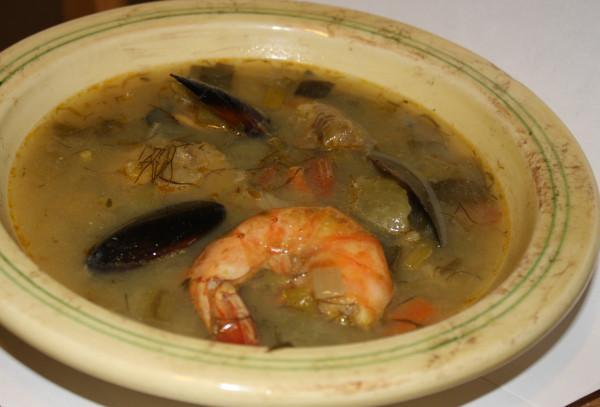 Fish & seafood Italian soup