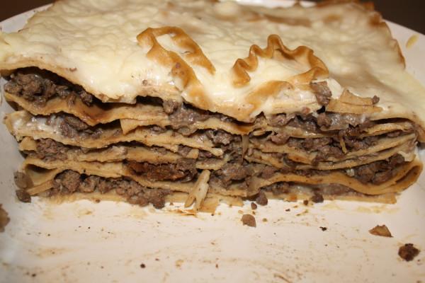 Lasagna Venison