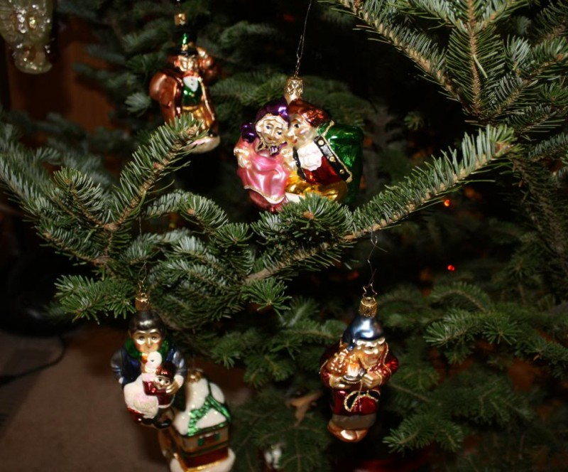 Christmas Carol Ornaments