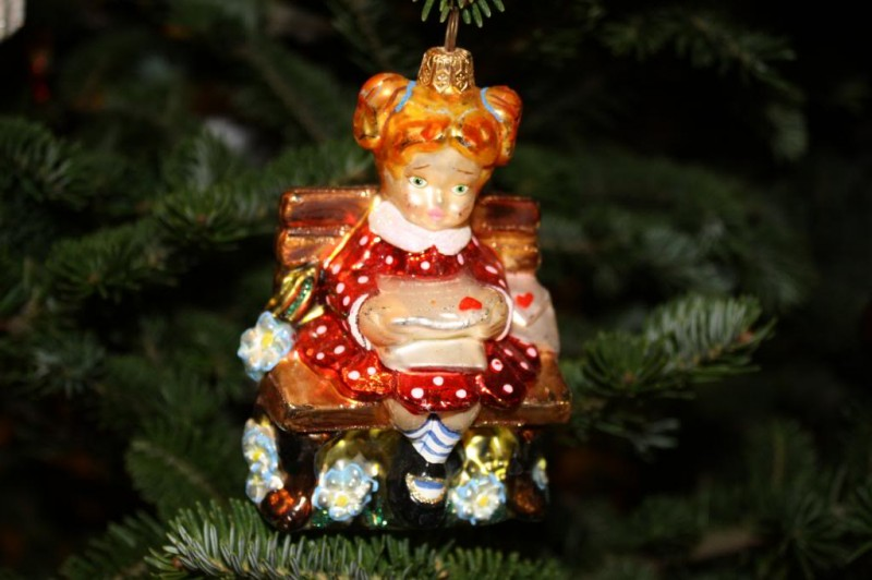 Girl Favorite Ornament
