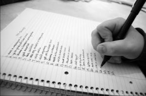 список важных дел