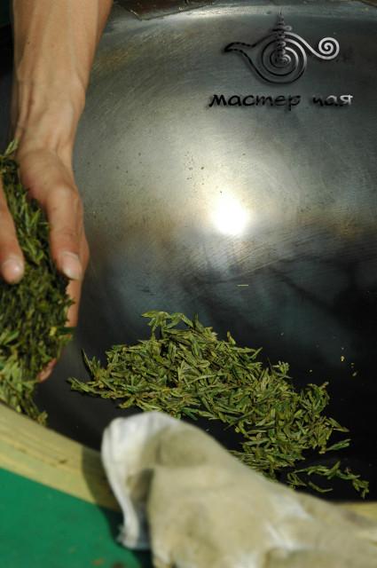 вок для прожарки чая лунцзин, компания мастер Чая
