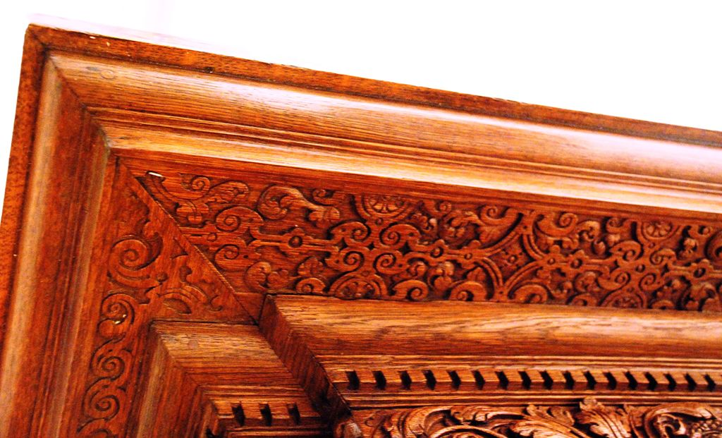 Копия Dutch cupboard at MFA._more-carving-under-cornice