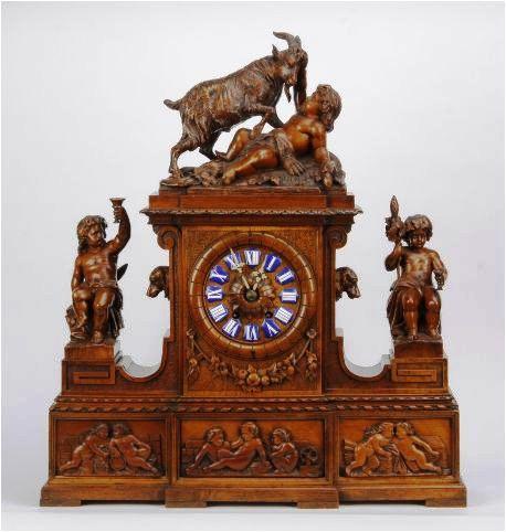 19th c. figural clock_1