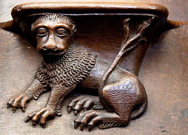 Vendome Abbey - Choir Stall_1