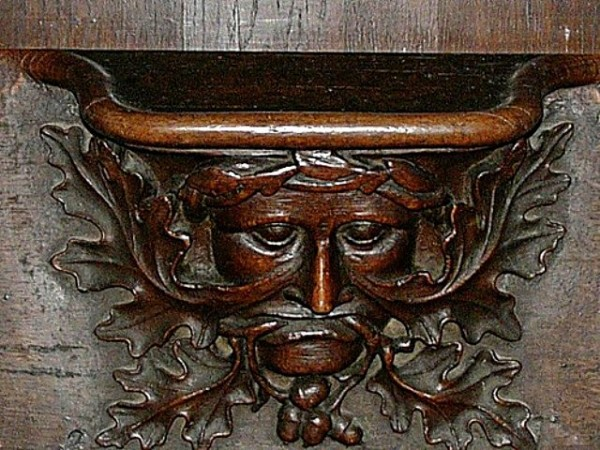 Vendome Abbey - Choir Stall_10