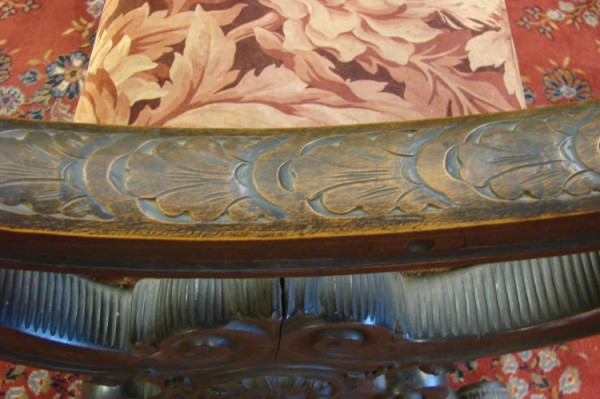 HAND CARVED 5 FOOT BENCH_7