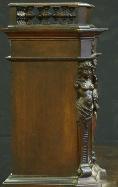 HAND CARVED WRITING DESK WITH GALLERY_5