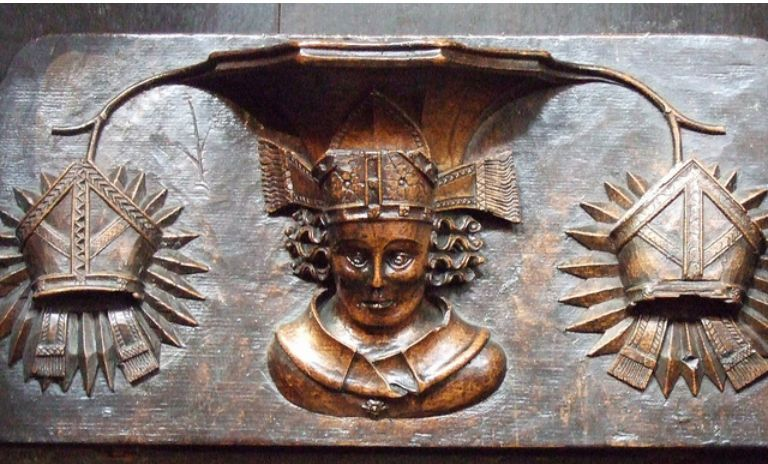 Misericords of St Laurence Church, Ludlow_4