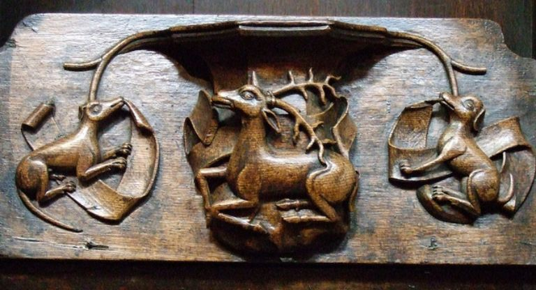 Misericords of St Laurence Church, Ludlow_5