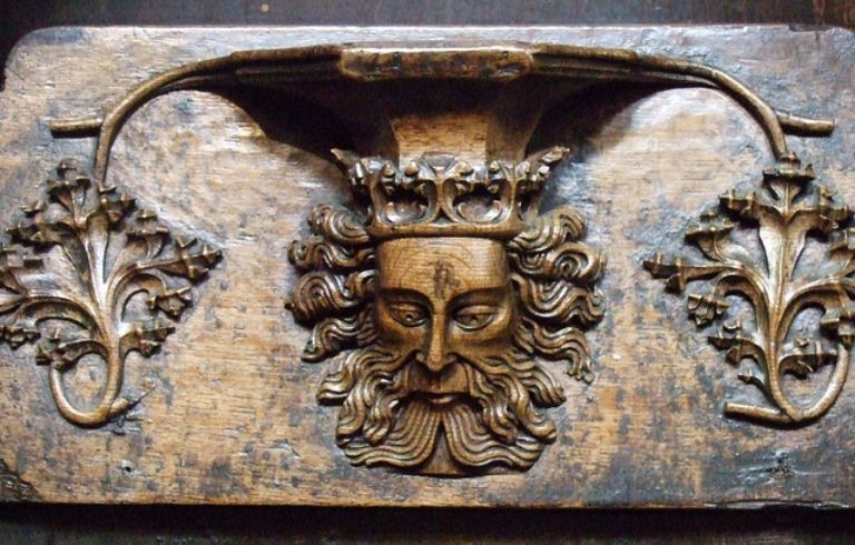 Misericords of St Laurence Church, Ludlow_6