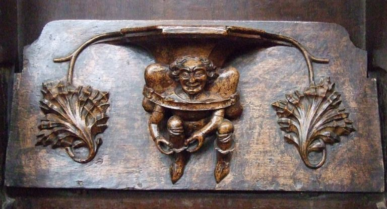 Misericords of St Laurence Church, Ludlow_11