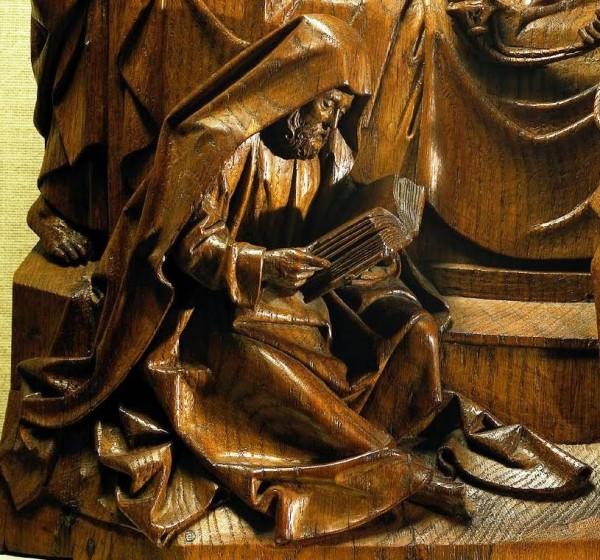 Adriaen van Wesel, Death of the Virgin, 1746_f