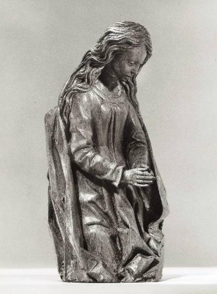 Kneeling Virgin Year c. 1476 Artist Adriaen van Wesel photo bk-nm-11713z
