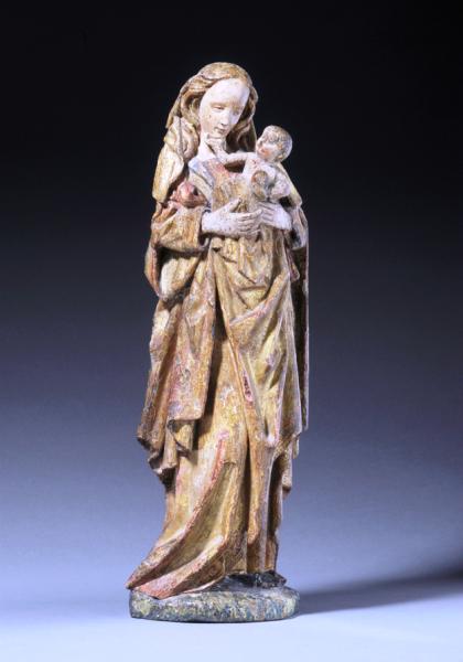 Vierge à l'Enfant, Adriaen van Wesel, vers 1500