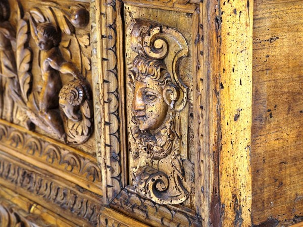 A Baroque Wood 'Cassone' with Rich Carving, Italy, 17th Century_4