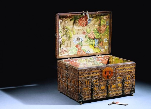 A Siculo-Arabic revival wood casket, Italy or Sicily, 19th century_3