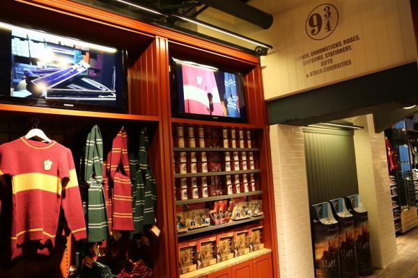 Harry Potter Official Shop At Platform 9 190 Opening In