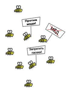 """Навальный и """"пчелы против меда"""""""
