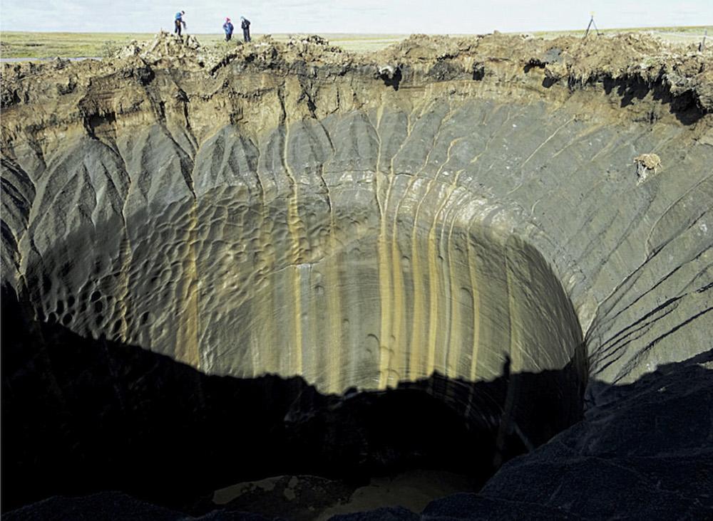 В Сибири обнаружены тысячи подземных газовых пузырей