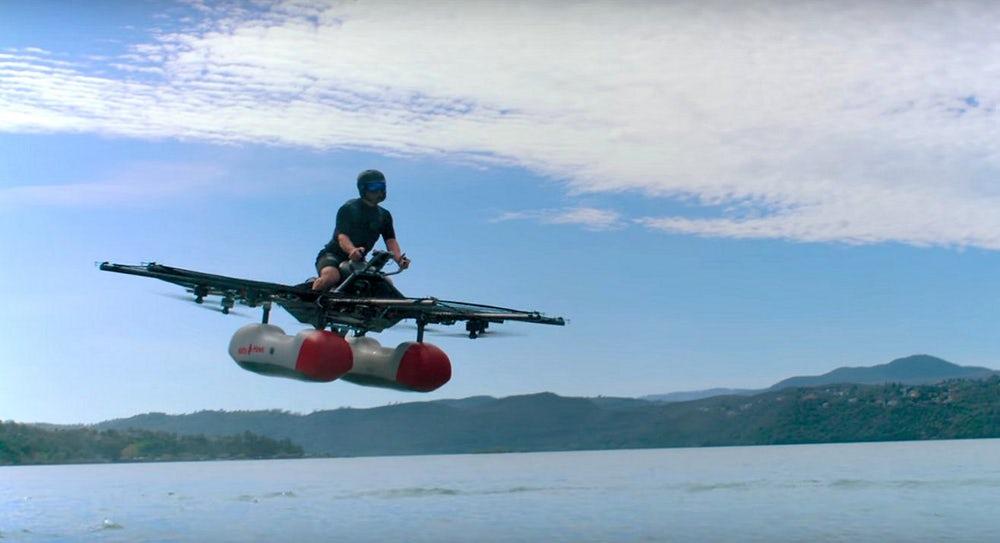 Действующий прототип персонального летающего транспортного средства