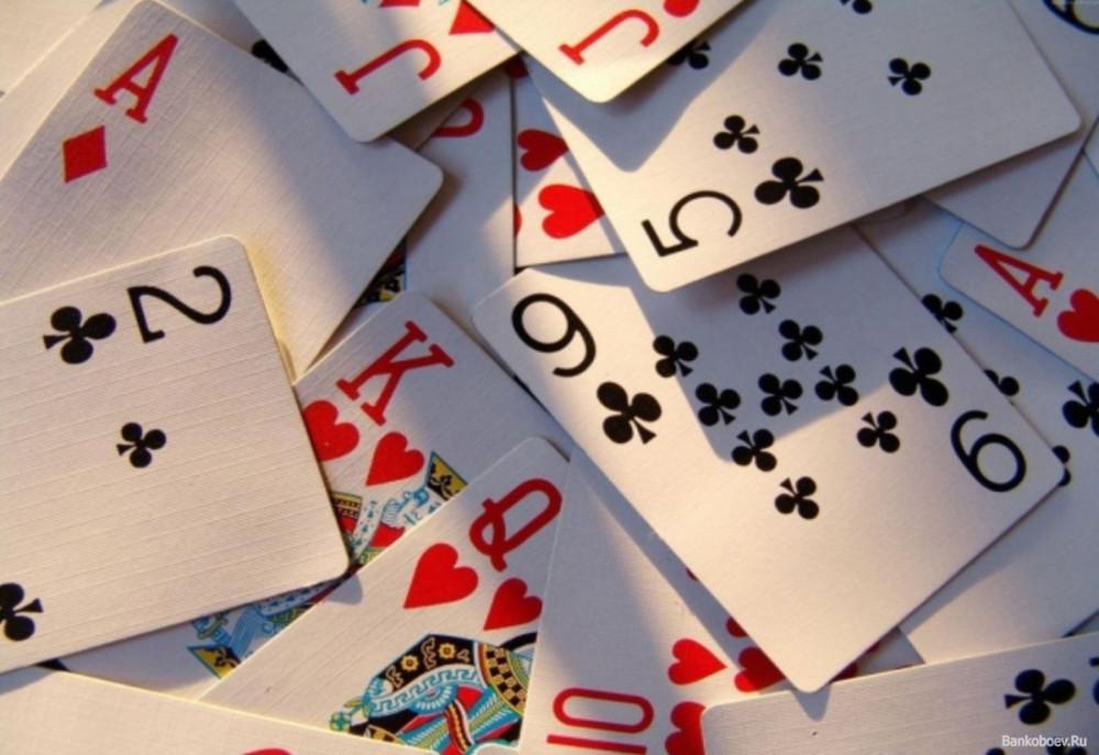 Задачка про 10 карт Задача