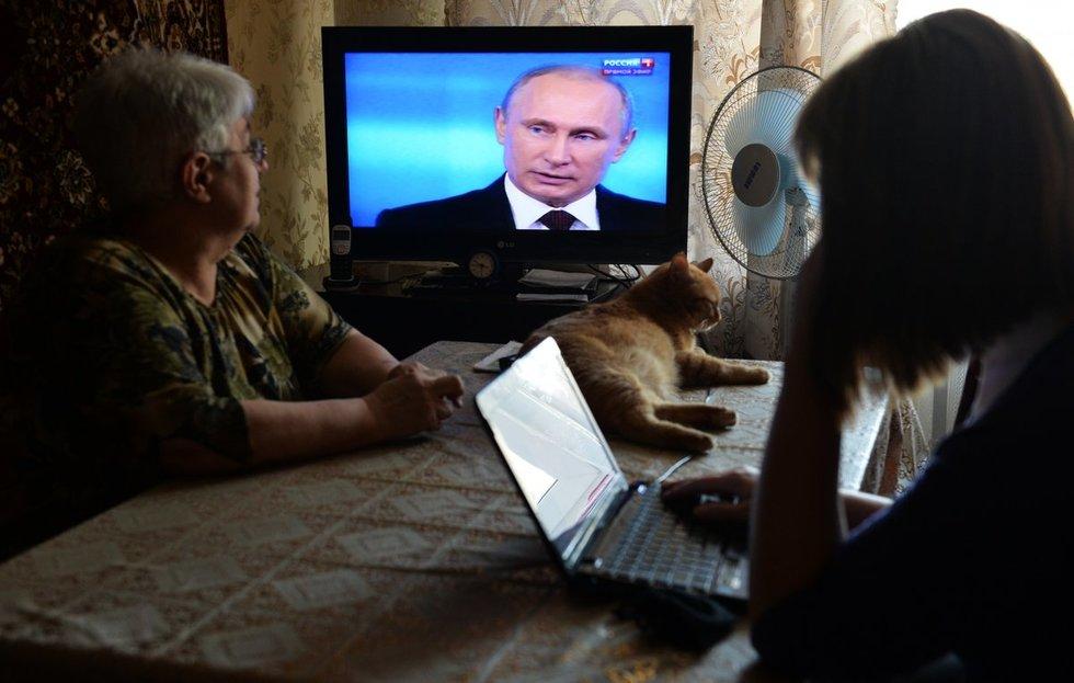 Какой вопрос вы задали Путину?