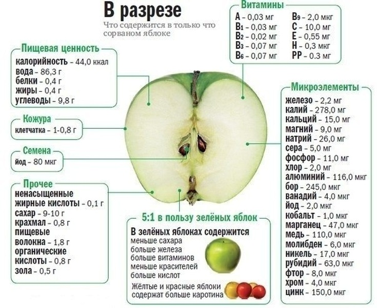 Что вы могли не знать о яблоках