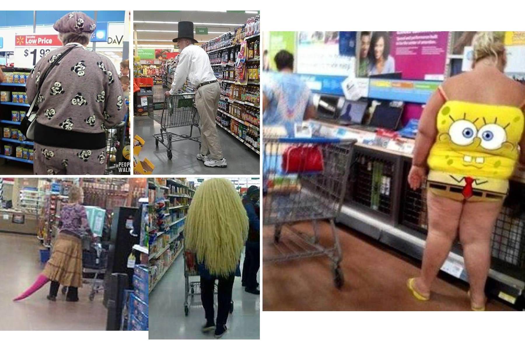 Как американцы ходят по магазинам