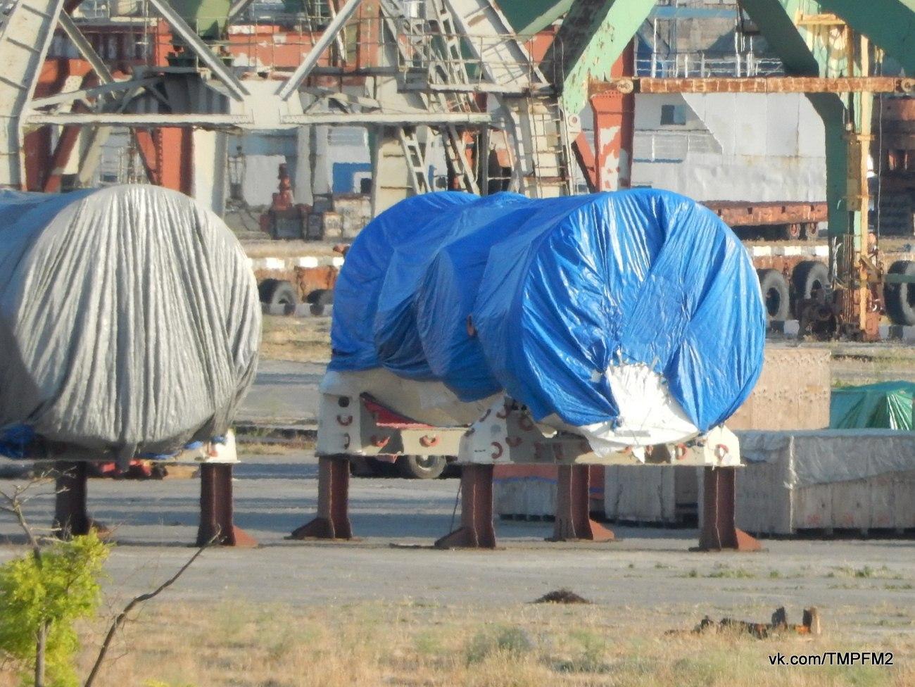 Вот так турбины попали в Крым