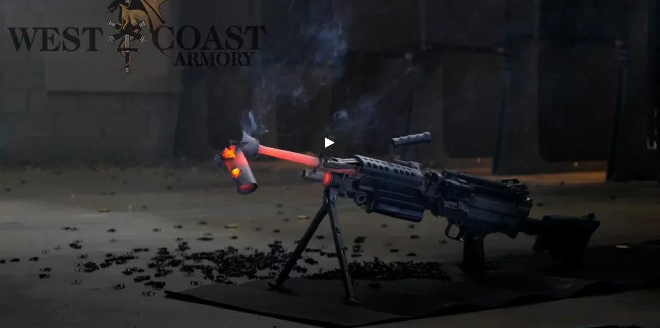 Как быстро расплавится ствол пулемета при непрерывной стрельбе?