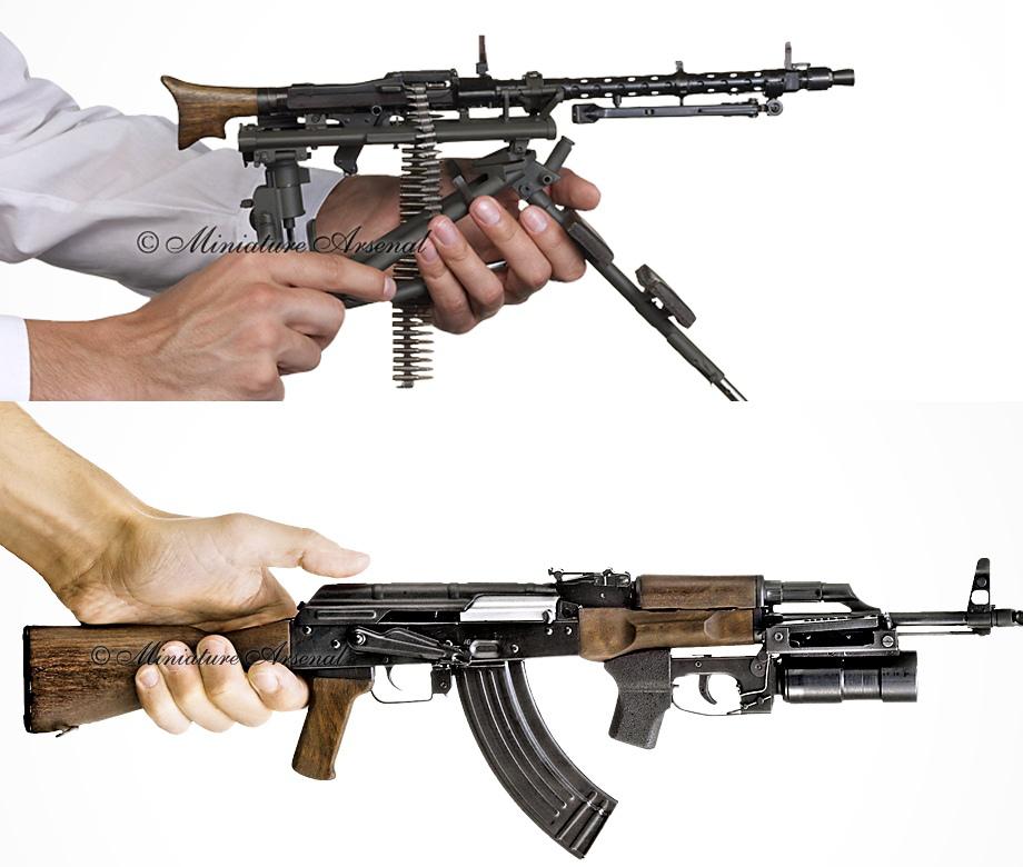 Миниатюрные модели оружия компании «Арсенал Миниатюр»