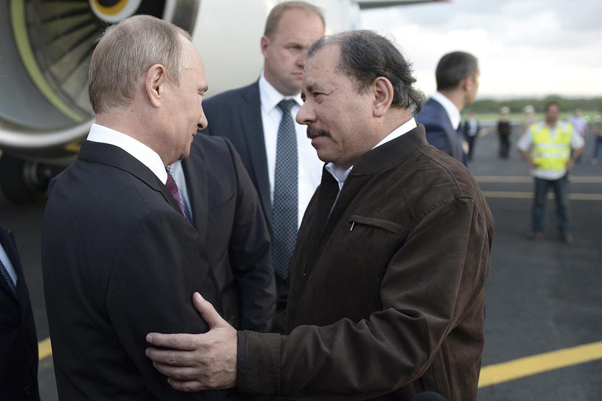 Что Россия делает в Никарагуа?