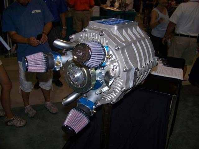 Самый странный двигатель, который вы когда-либо видели