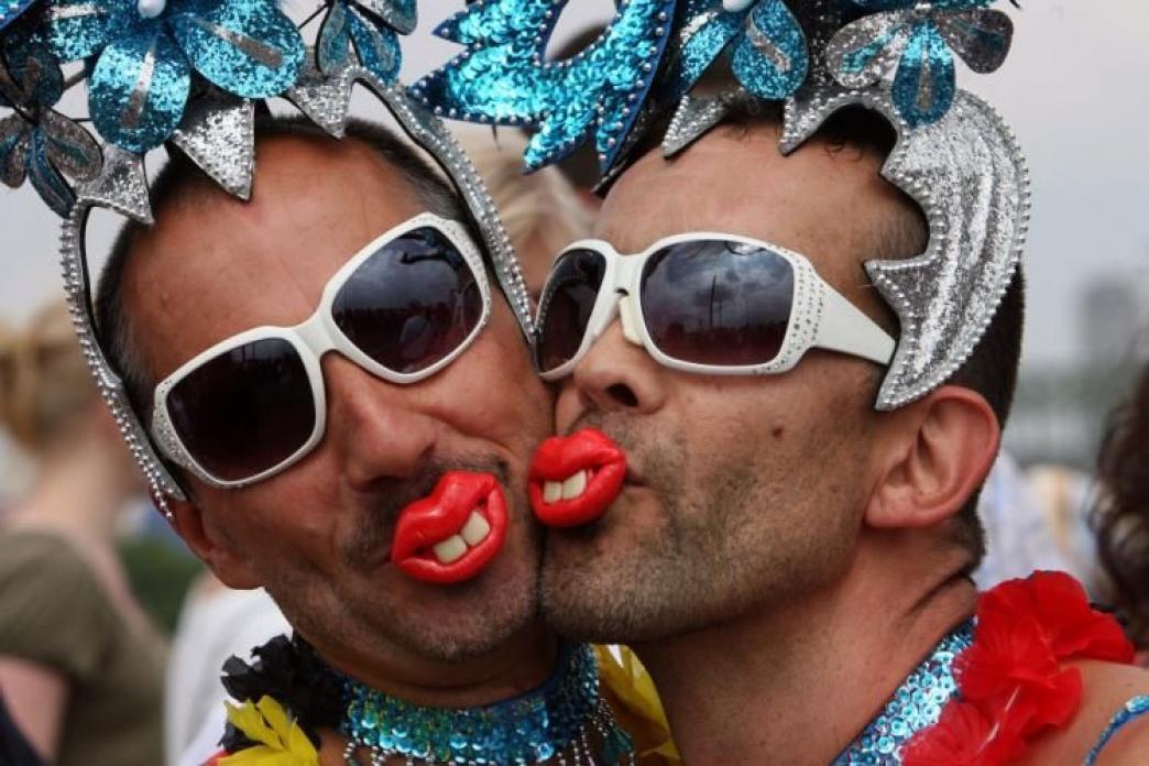 Автоматическое определение гомосексуалистов по фото