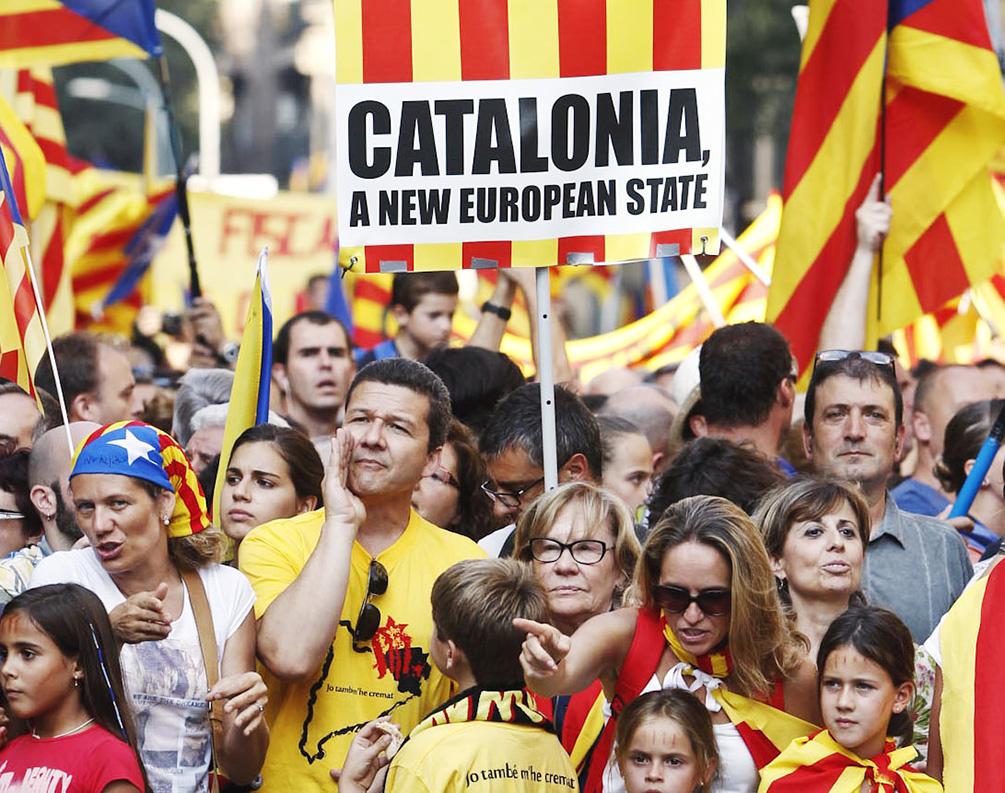 А вы в курсе, что происходит сейчас в Испании?