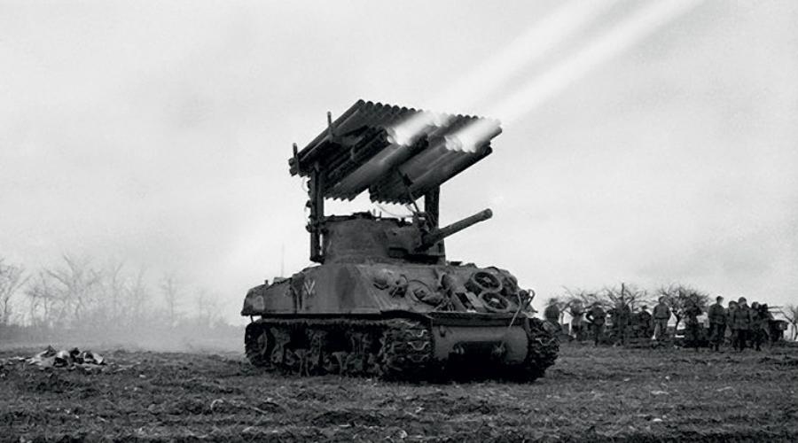 Британская и американская реактивная артиллерия Второй мировой