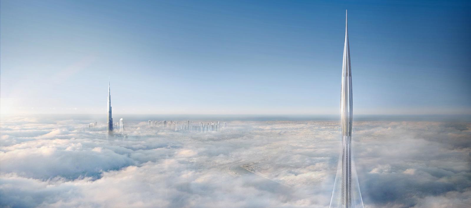 Фундамент для самого высокого сооружения в мире