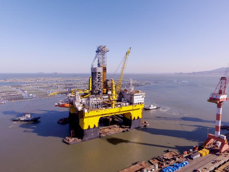 Самая большая в мире морская буровая платформа