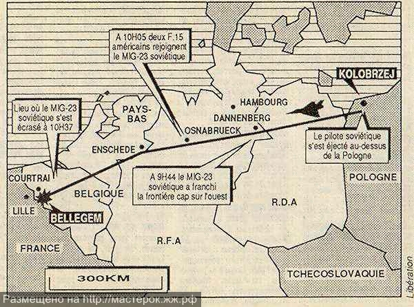 trasa_letu_MiGu-23BN_bez_pilota_do_Belgie (Копировать)