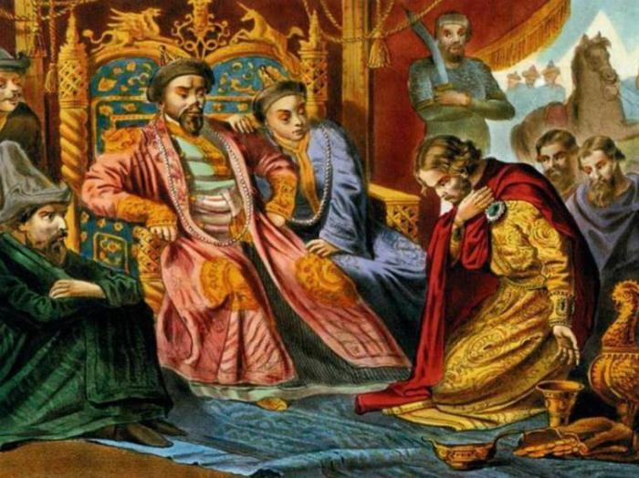 Почему Александр Невский заключил союз с Ордой История
