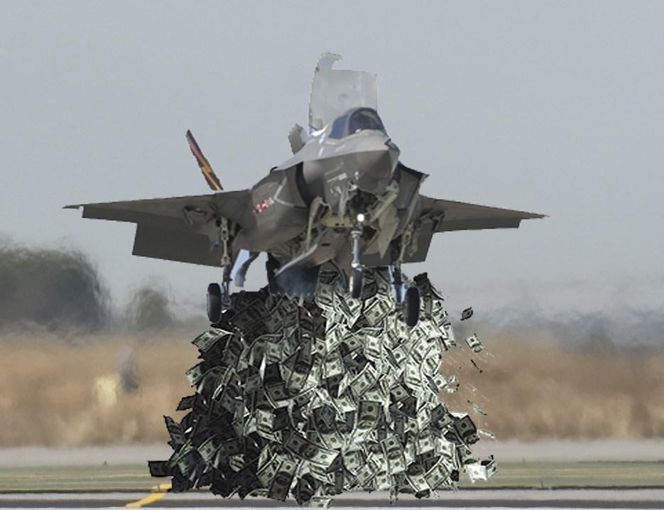 Как F-35 шпионит за своими покупатетями