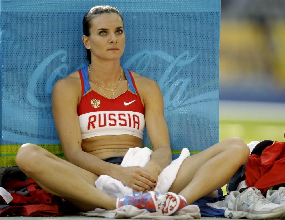 Елена Исинбаева: накипело!