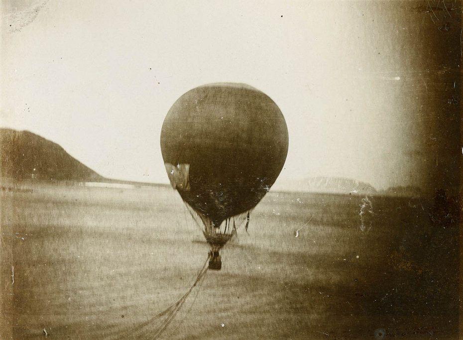 На северный полюс на воздушном шаре