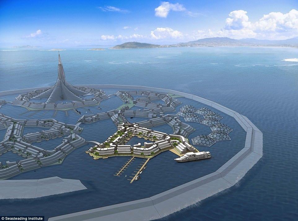 Город свободных людей в океане