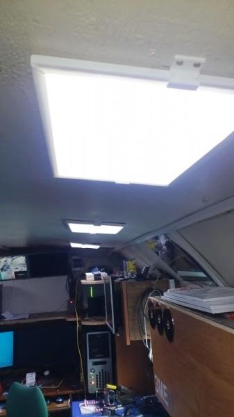Светодиодная панель своими руками