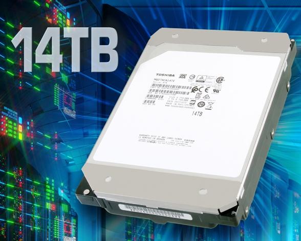 «Гелиевый» жесткий диск емкостью в 14 ТБ