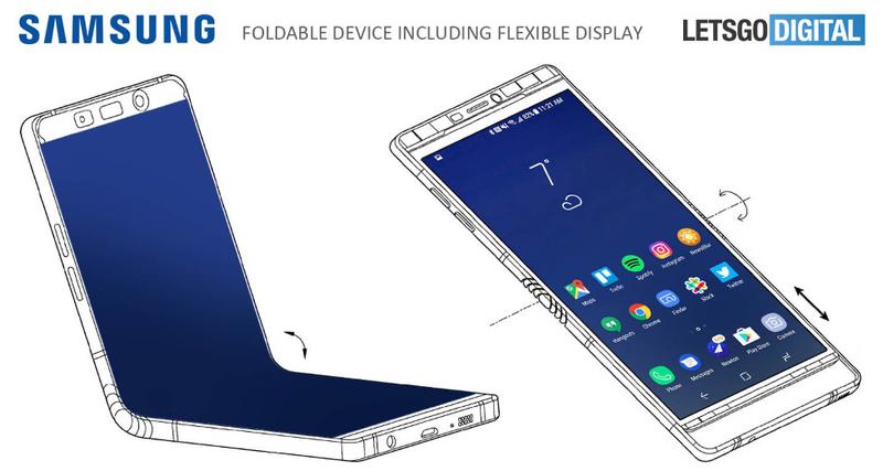Samsung раскладушка